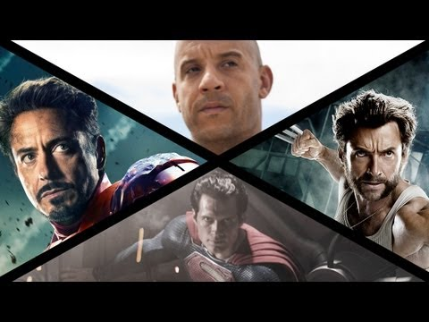 Жаркая пора 2013 Summer Movie Preview: Iron Man, Superman, Wolverine & More! mail sosowide.com